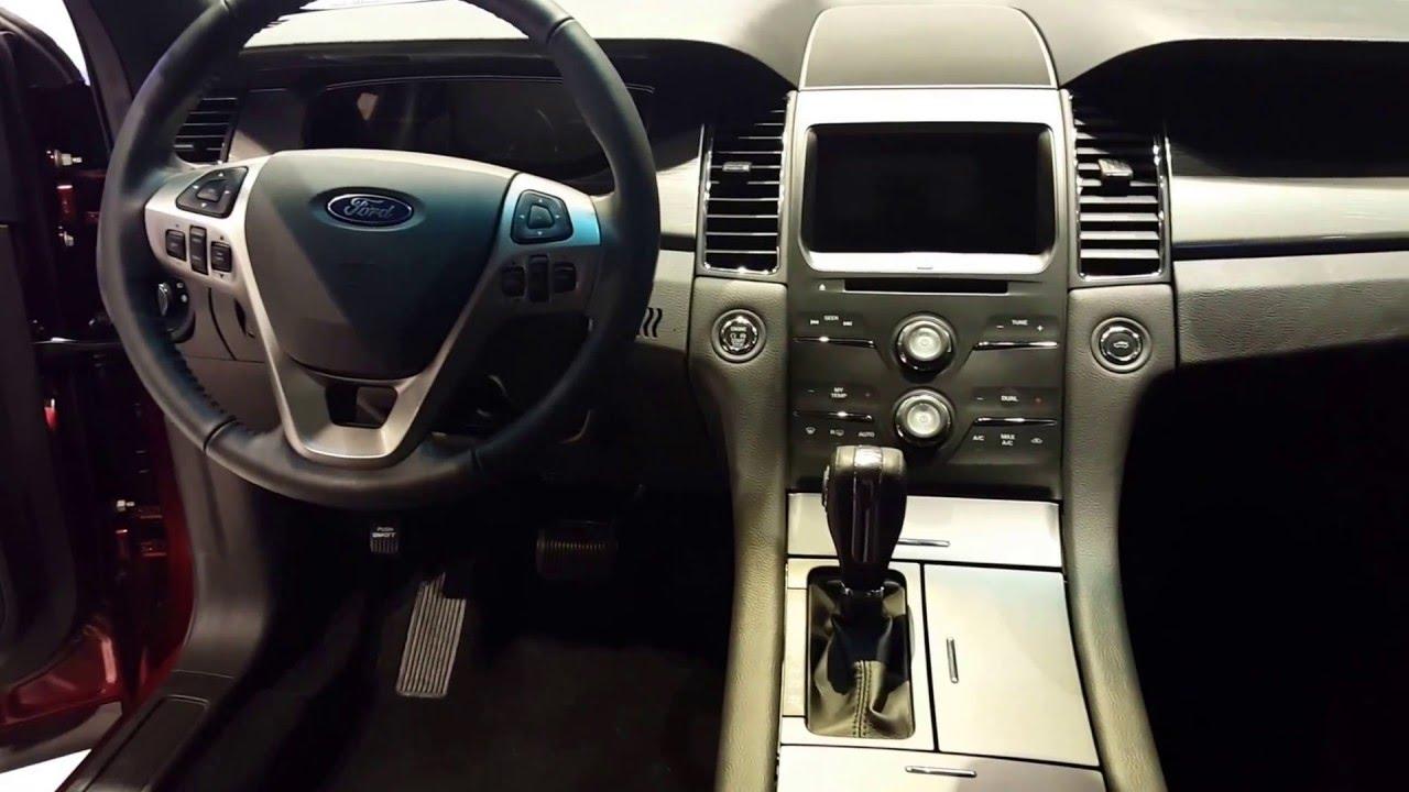 2016 Ford Taurus Sel Interior Chicago Auto Show