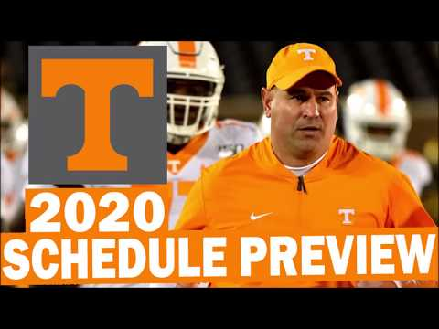 Tennessee Volunteers 2020 College Football Schedule Preview