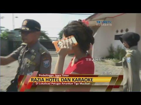 Jelang Ramadan, Petugas Razia Hotel & Karaoke