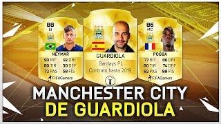 FIFA 16 TRANSFERS | MANCHESTER CITY DE GUARDIOLA | ULTIMATE TEAM 16