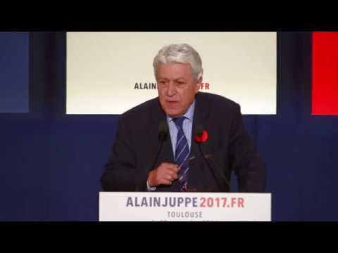 Meeting de Alain Juppé à Toulouse - Mardi 22 Novembre 2016