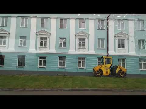 Бокситогорск перед праздником, после генеральной реконструкции