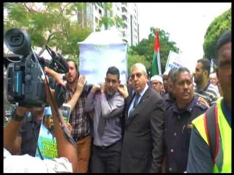 Jenazah Imam Dr Fadli Di bawa ke masjid medan idaman setapak