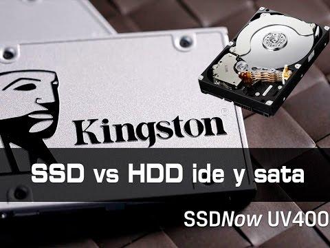 SSD vs HDD IDE y SATA en Equipo VIEJO o antiguo