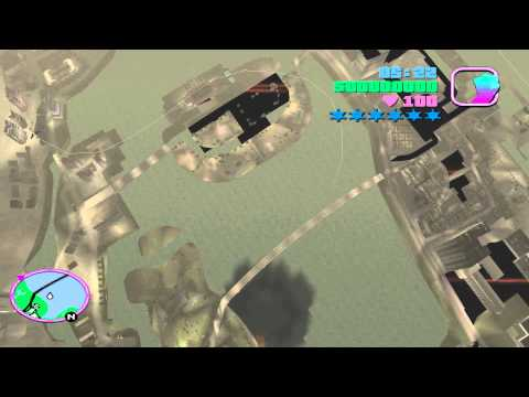 GTA Vice City Flying Much Higher Than Helicopter And Then Falling Down