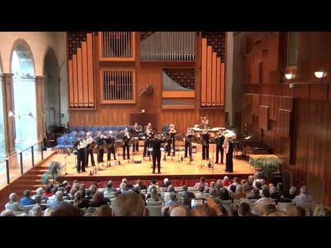 US Naval Forces Band Europe Brass Ensemble 20APR2018 Concert