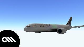 [ROBLOX] Abu Dhabi Terminal 3 Flight! (Etihad) A321 NEO