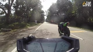 Weekend easy group ride to Gohtong Jaya