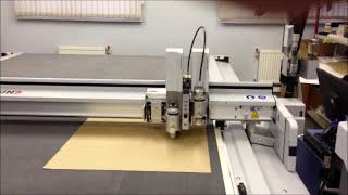 видео изготовление картонных коробок