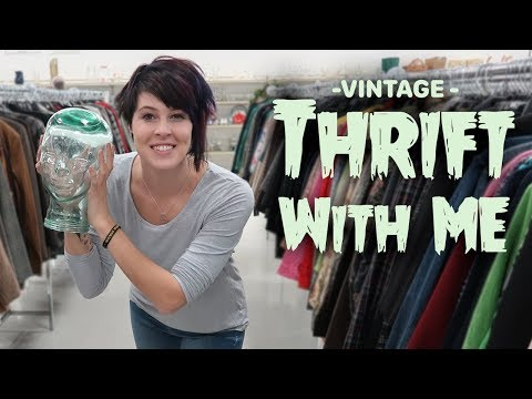 Thrift with Me | Vintage Treasures at the Thrift Store | Buying & Reselling