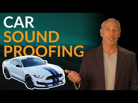 Car Soundproofing - www.AcousticFields.com