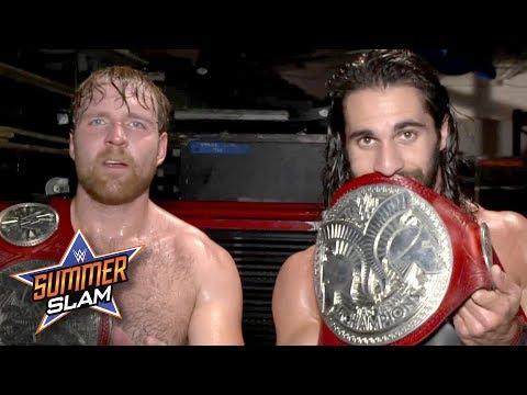 "Dean Ambrose & Seth Rollins ""own tag team wrestling"": Exclusive, Aug. 20, 2017"