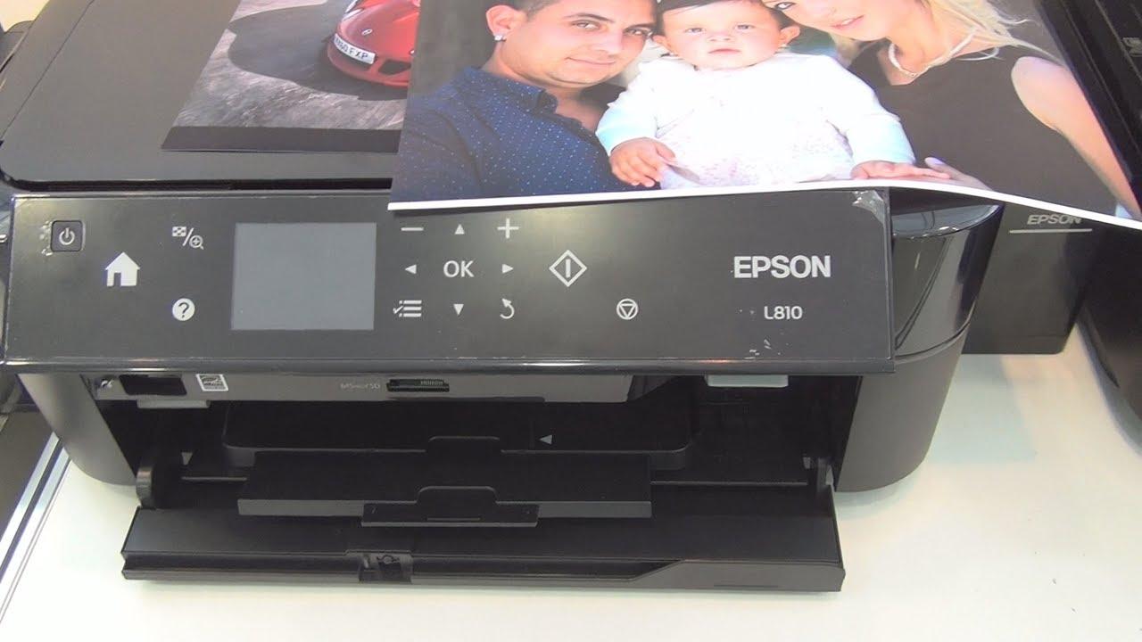 Epson L810 printer review