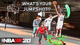 THESE JUMPSHOTS TURN EARLY RELEASES INTO PERFECT RELEASES ON NBA 2K20! NEVER MISS AGAIN!