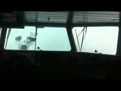 HrMs Holland p840 in zwaar weer / heavy weather on board HrMs Holland