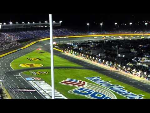NASCAR Bank of America 500 Charlotte 2013 Green Flag