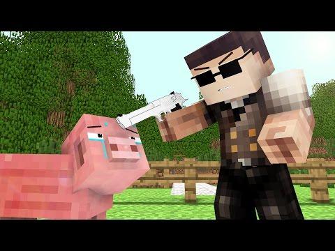 Pig Life 2 - Craftronix Minecraft Animation - Видео из Майнкрафт (Minecraft)