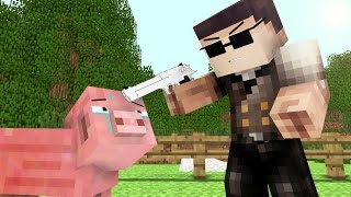 Pig Life 2 - Craftronix Minecraft Animation