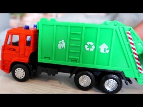 Машины, трактора и грузовики. Мультик для детей с машинами
