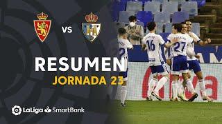 Resumen de Real Zaragoza vs SD Ponferradina (1-0)