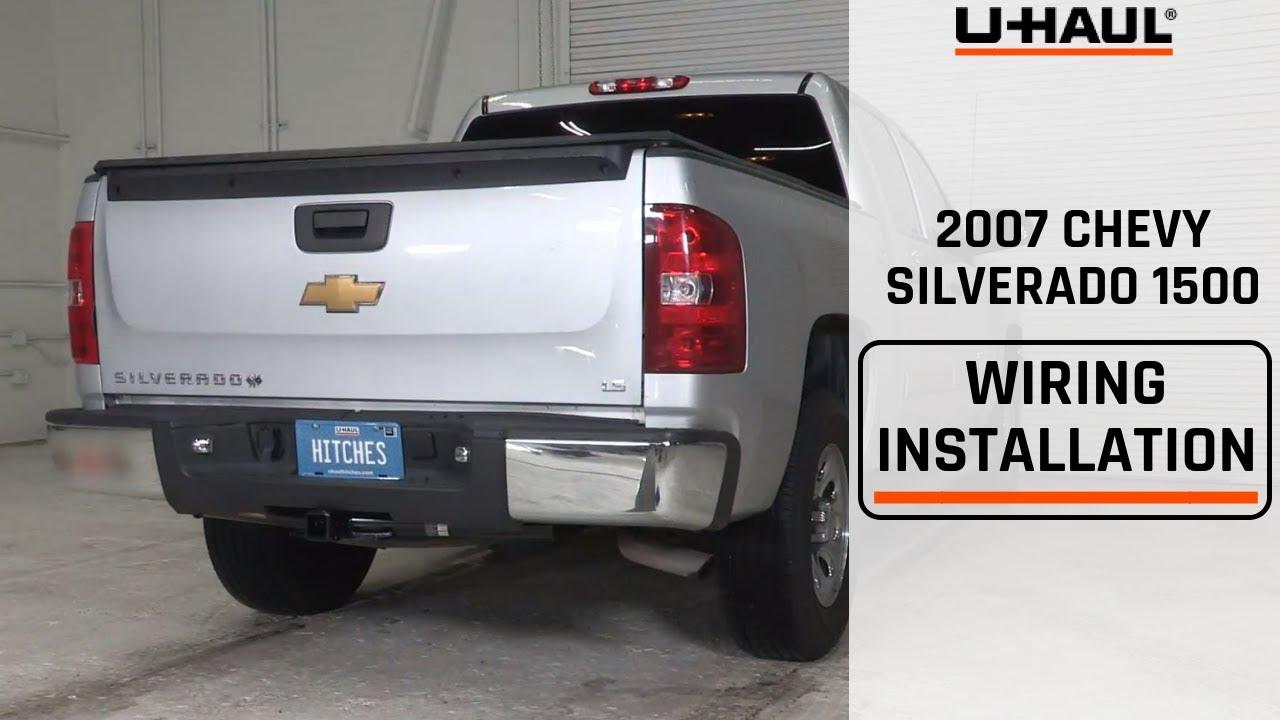 2007 Chevrolet Silverado 1500 Trailer Wiring Installation - YouTube   Chevrolet Trailer Wiring Harness      YouTube