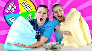 Slime Challenge: Winner Gets $1000 || Sis vs Sis || Taylor and Vanessa