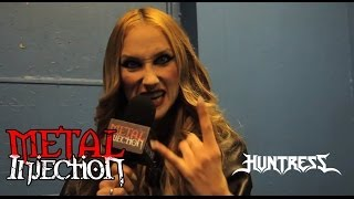 Jill of HUNTRESS on Touring With Dudes & Dream Tours - Metal Injection