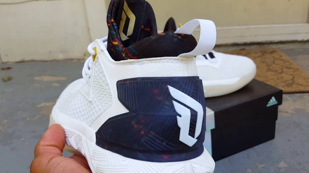 wholesale dealer ef2b5 20dbf Adidas Lillard 2 Nation detailed review. Todays pick up - Yo