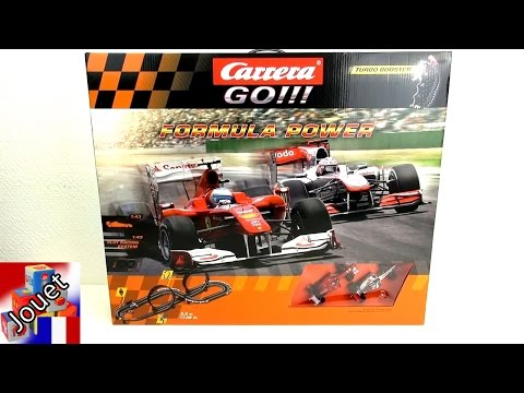 Circuit de course Carrera Go Formula Racing Track Unboxing 20062271 | Formule 1 espace