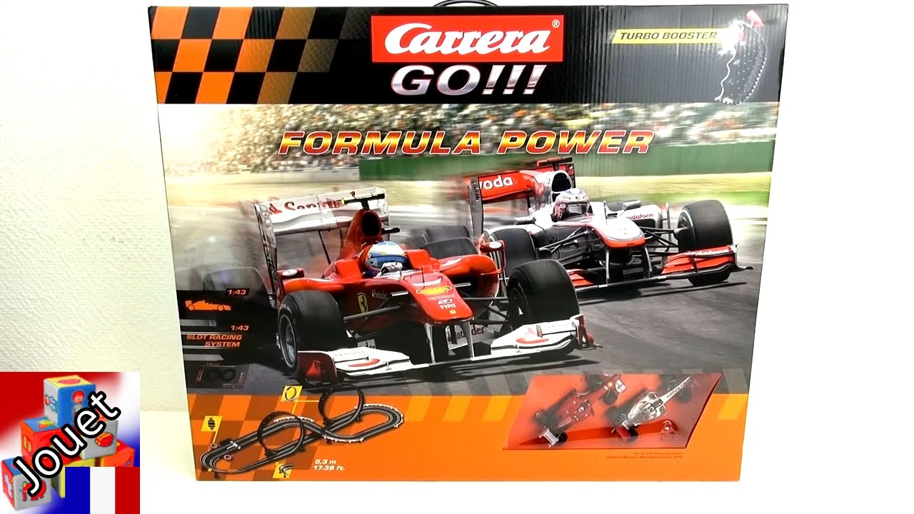 circuit de course carrera go formula racing track unboxing 20062271 formule 1 espace youtube. Black Bedroom Furniture Sets. Home Design Ideas