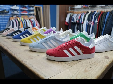 Adidas GAZELLE 1988 Collection at 80s Casual Classics