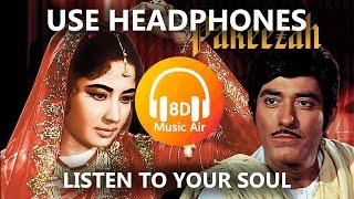 Mausam Hai Aashiqana | Pakeezah (1972) | Meena Kumari | Lata Mangeshkar - 8D Music Air