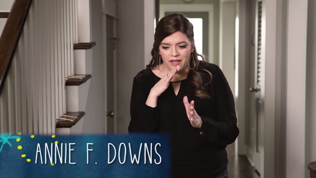 Annie F. Downs – author. speaker. podcaster. loud laugher.