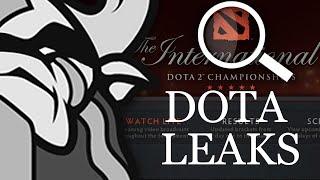 dota leaks public service announcement