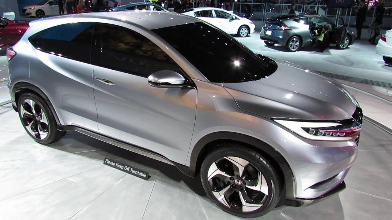 2014 Honda Urban SUV Concept   2013 Detroit Auto Show   YouTube