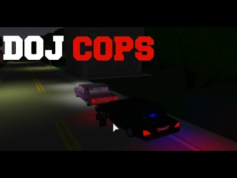 ROBLOX DOJ Cops #2 - Officer Down! (Law Enforcement)