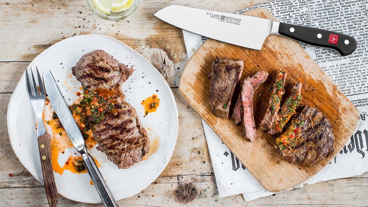 In Die Küche Fertig Los Rumpsteak Mit Chilibutter Wüsthof Blog