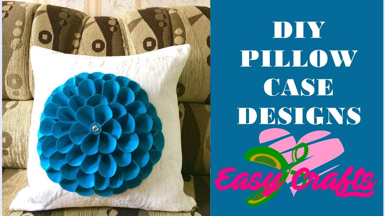 Super Easy Creative Decorative Pillow Case Designs