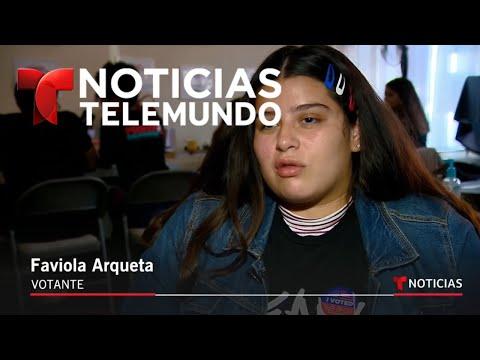 Los latinos jugarán un papel importante en estas elecciones de medio término | Noticiero | Telemundo
