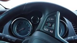 Cold start -31 °C  Opel Insignia