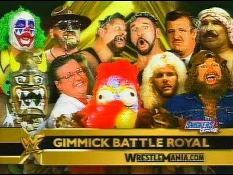 Gimmick Battle Royal - WrestleMania X-Seven