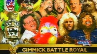 Gimmick Battle Royal - WrestleMania X-Seven