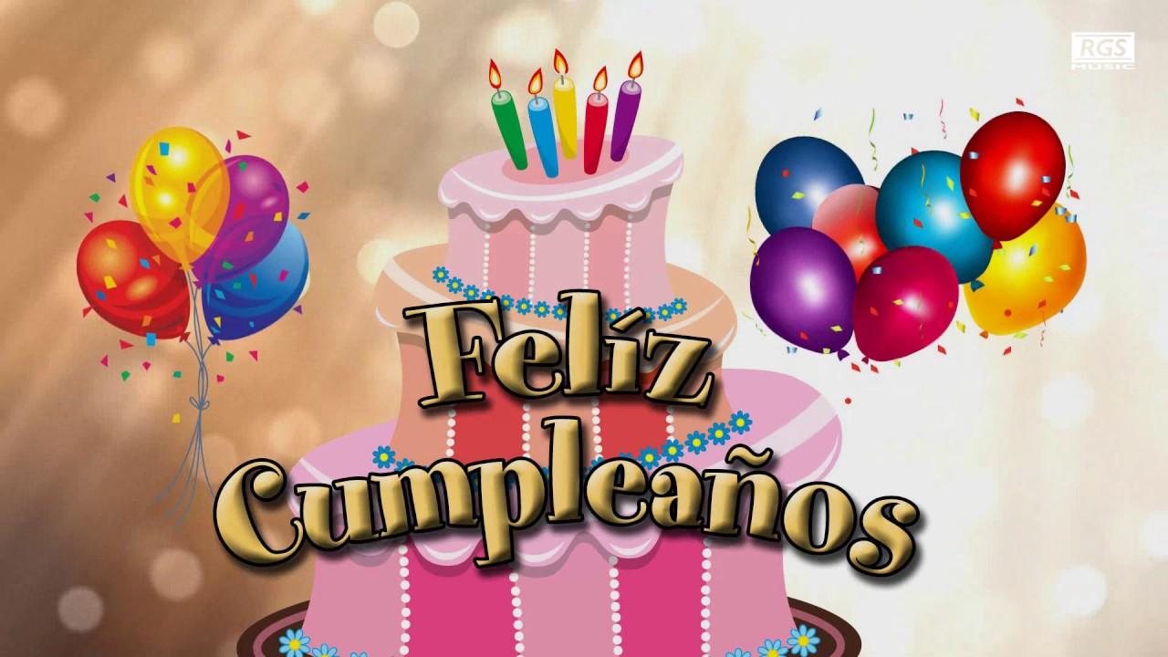 Feliz Cumpleaños animado Feliz cumple instrumental Felicitación de cumpleaños para dedicar