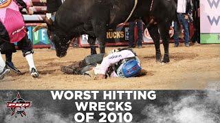 Worst Bull Riding Wrecks of 2010 | PBR