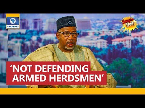 'AK 47' Statement: I Was Not Defending Armed Herdsmen', Says Gov Bala Mohammed