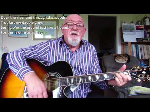 Guitar: Over The River And Through The Woods (Including lyrics and chords)
