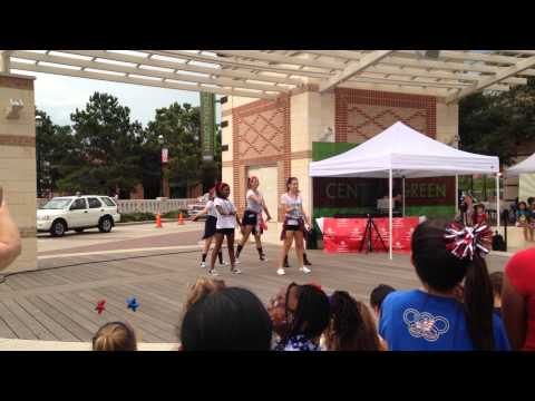 Firework By Katy Perry dance performance at LaCenterra at Cinco Ranch performed