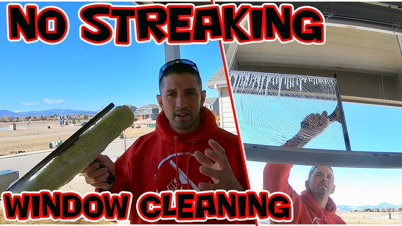 How To Clean Windows Without Streaking