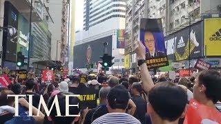 Thousands Take To Hong Kong Streets For 7th Consecutive Week To Protest Anti-Extradition Bill | TIME