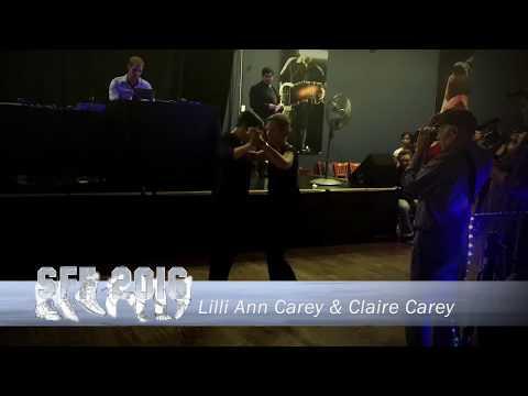 Seattle Fusion Festival 2016 ~ LilliAnn Carey And Claire Carey